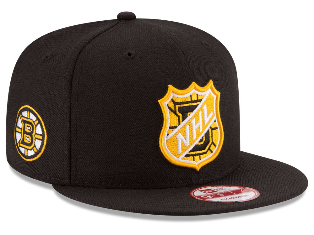 New Era Kšiltovka Boston Bruins NHL Team Shield 9FIFTY Snapback
