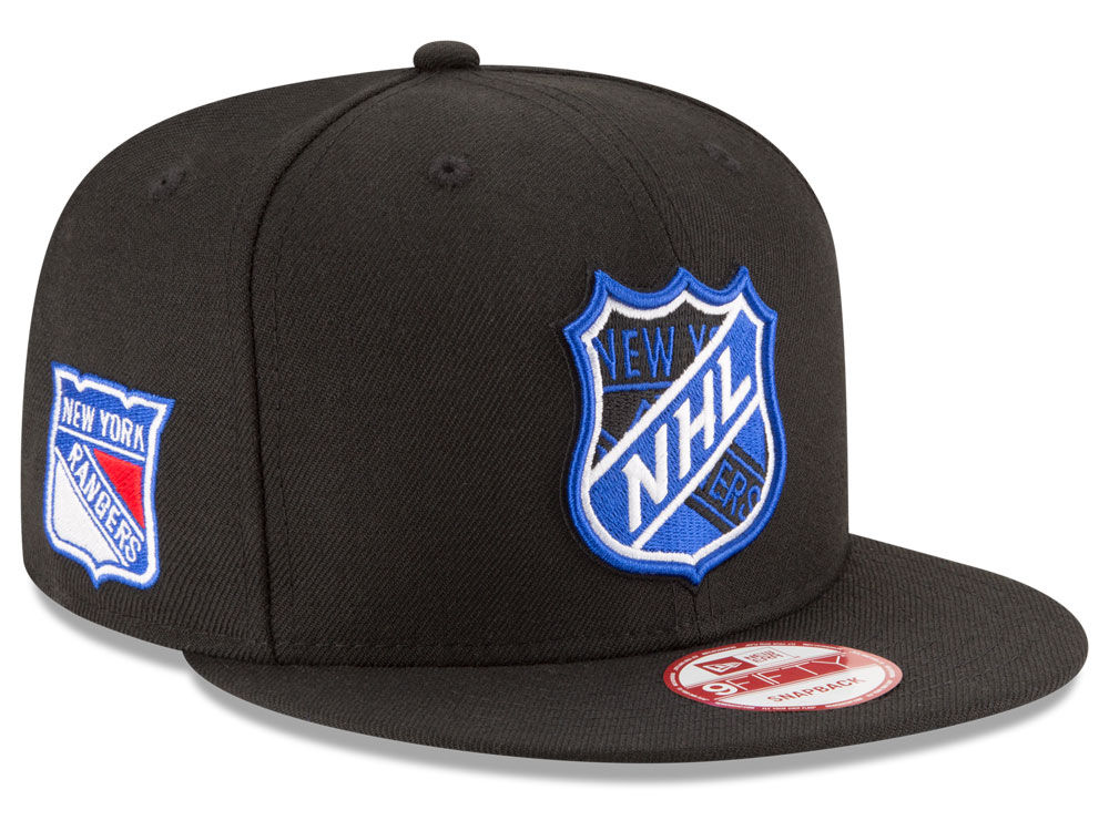 New Era Kšiltovka New York Rangers NHL Team Shield 9FIFTY Snapback