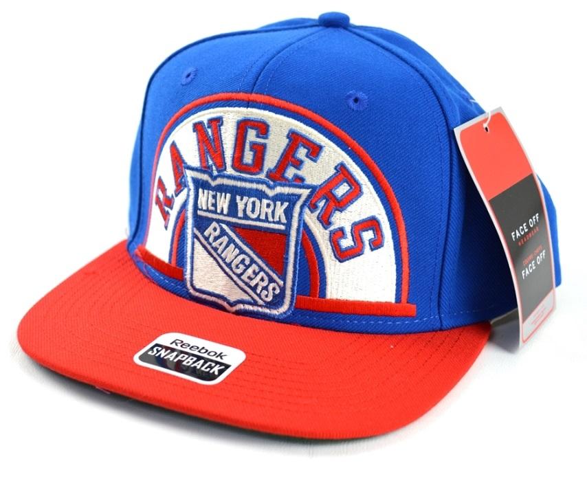Reebok Kšiltovka New York Rangers Arched Snapback Distribuce  EU 089c122546