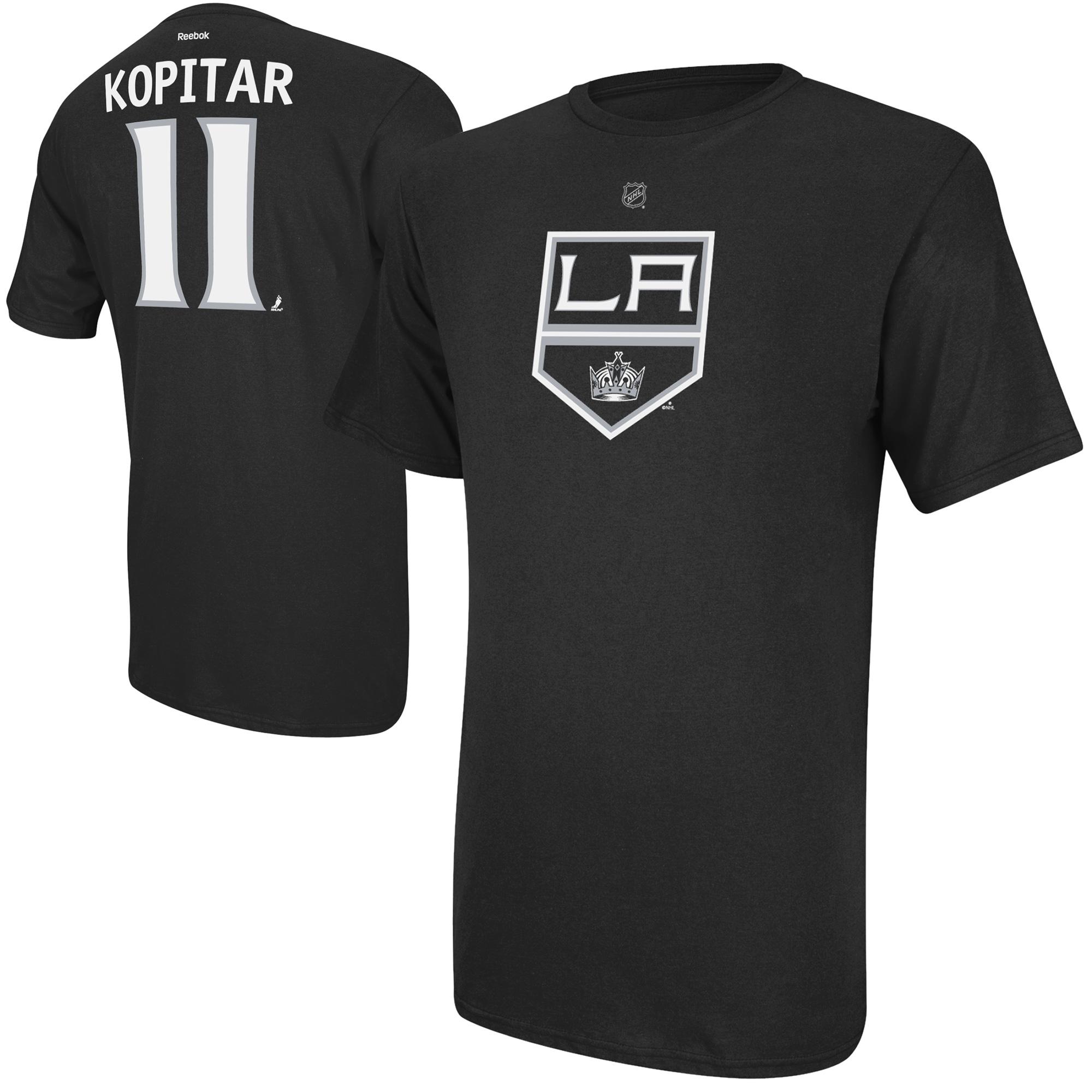 Reebok Dětské tričko Anze Kopitar Los Angeles Kings NHL Name & Number Velikost: Dětské M (9 - 11 let)
