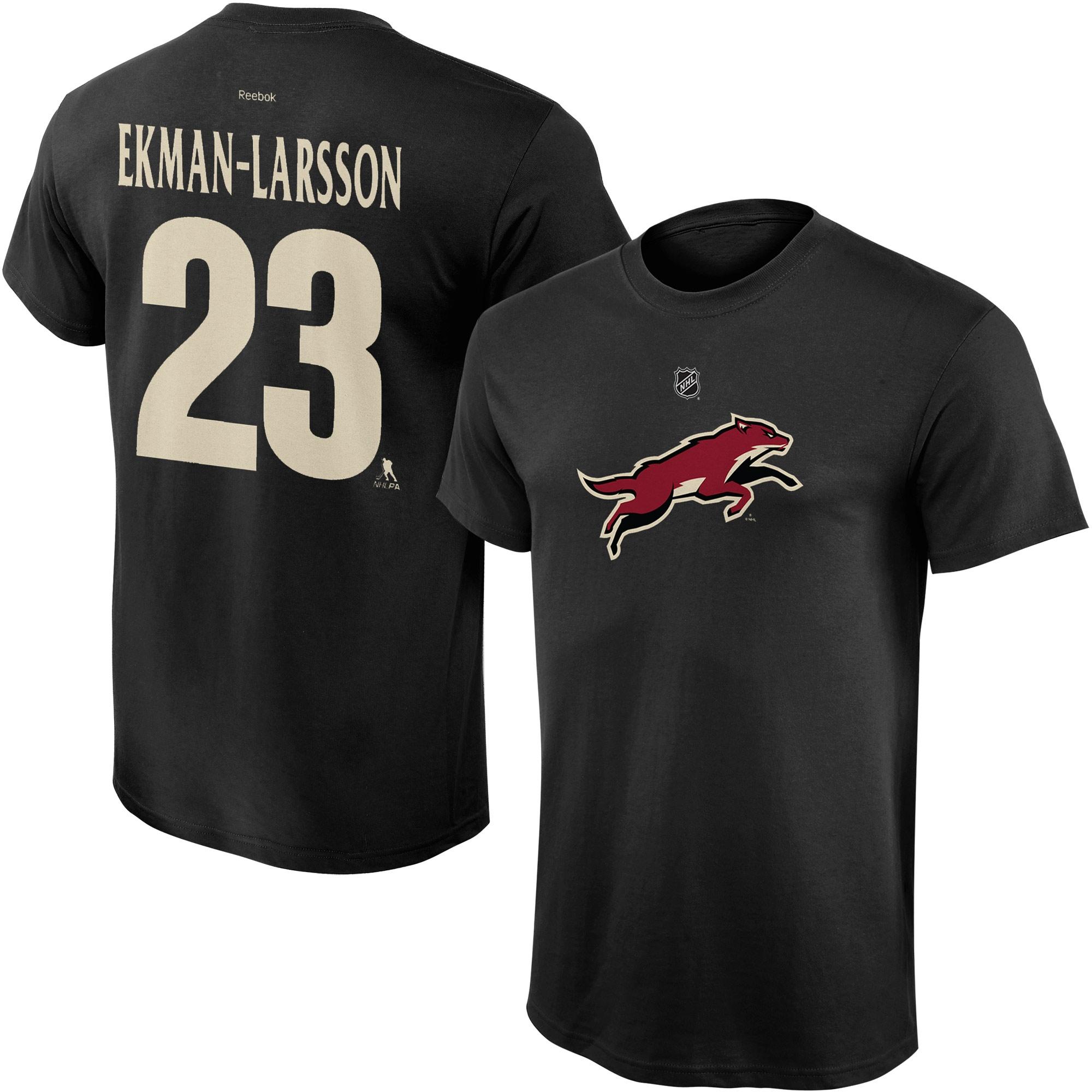 Reebok Dětské tričko Oliver Ekman-Larsson Arizona Coyotes NHL Name & Number Velikost: Dětské M (9 - 11 let)