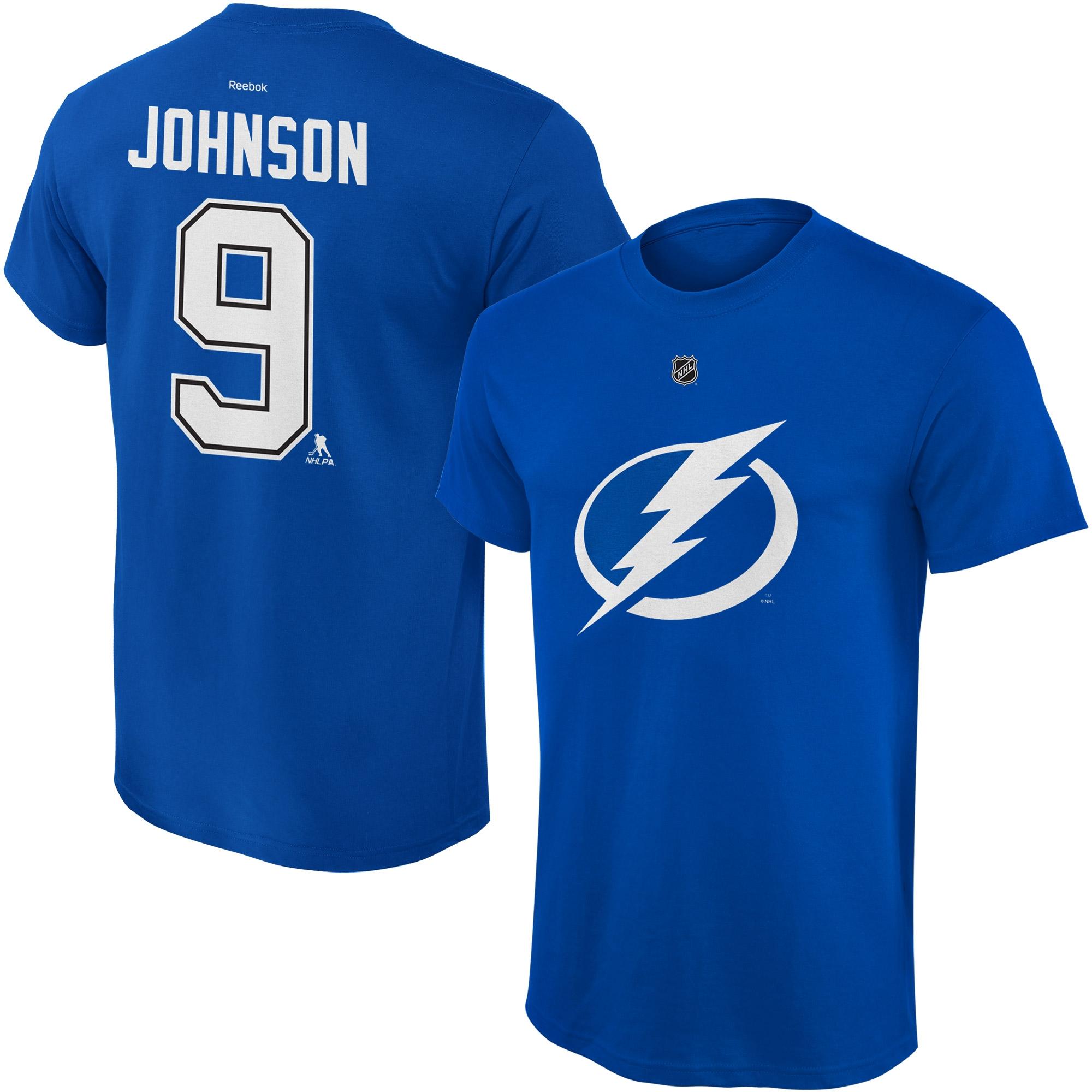 Reebok Dětské tričko Tyler Johnson Tampa Bay Lightning NHL Name & Number Velikost: Dětské M (9 - 11 let)