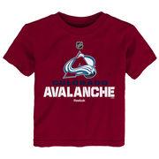 Reebok Dětské tričko Colorado Avalanche NHL Clean Cut Velikost: Dětské M (9 - 11 let)