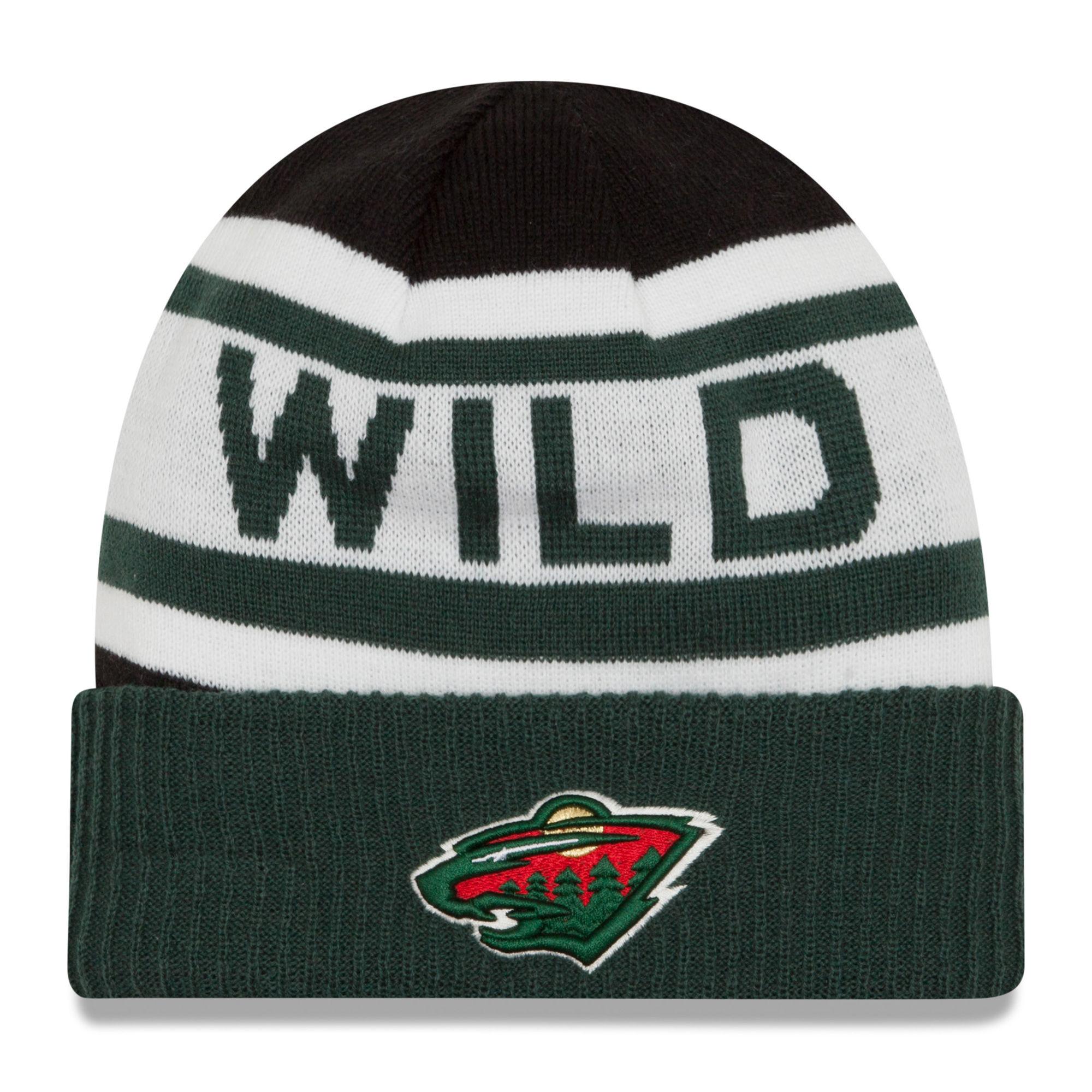 b6de87bc692 New Era Dětská zimní čepice Minnesota Wild NHL Biggest Fan 2.0