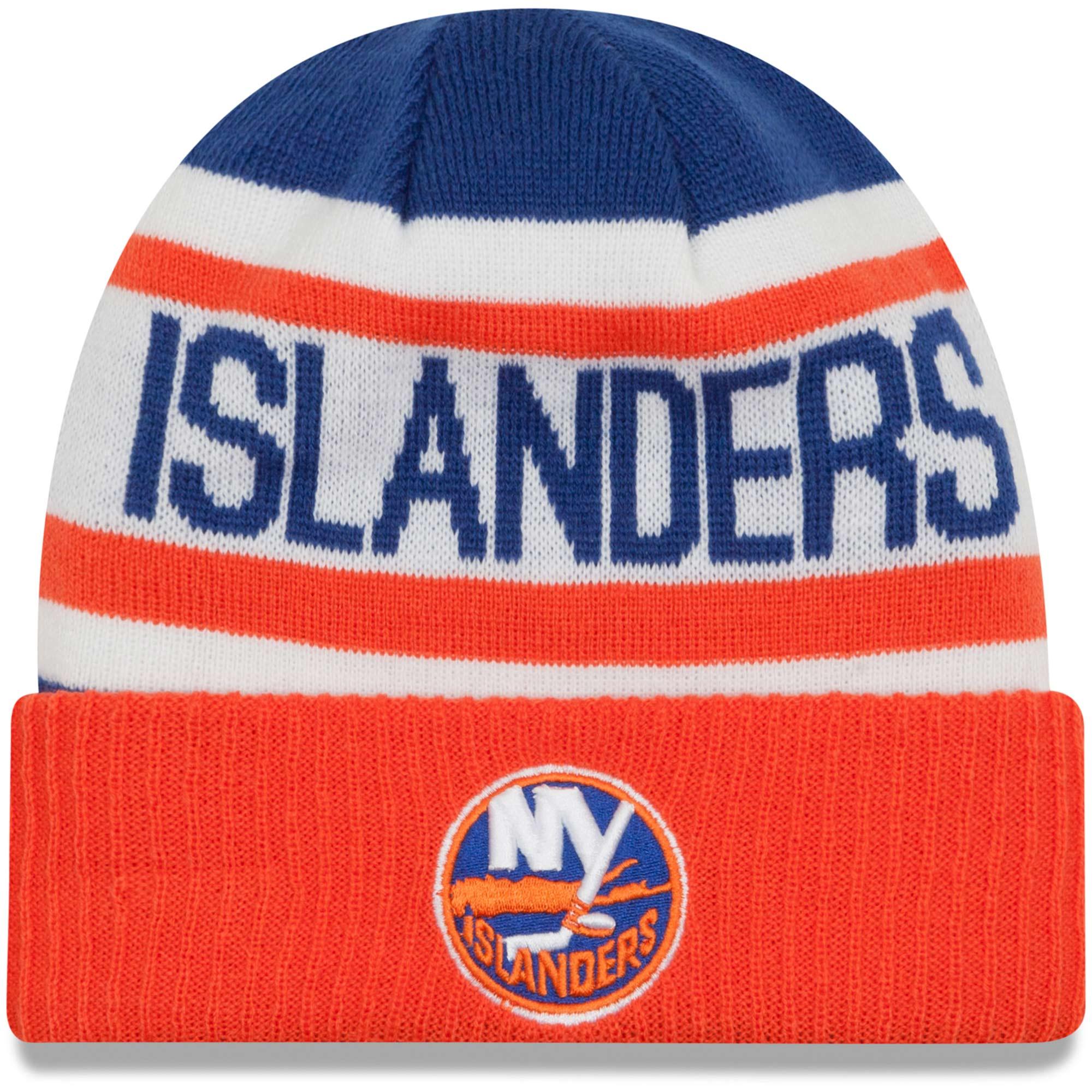 429619cd2a6 New Era Dětská zimní čepice New York Islanders NHL Biggest Fan 2.0
