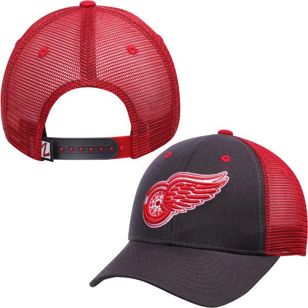 Zephyr Kšiltovka Detroit Red Wings Basic Trucker