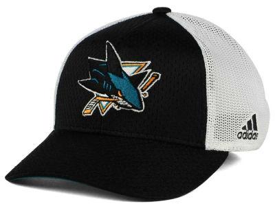 Adidas Kšiltovka San Jose Sharks Mesh Flex Cap Velikost  L XL f8bab9fa28