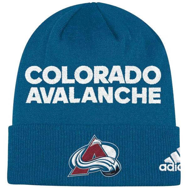 Adidas Zimní Čepice Colorado Avalanche Locker Room 2017 6343ce4c28