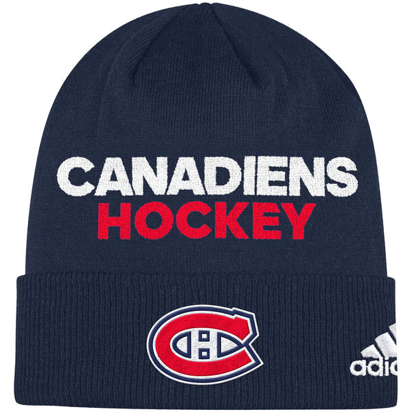 Adidas Zimní Čepice Montreal Canadiens Locker Room 2017 122b0f5106