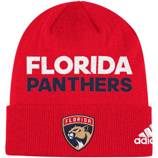 Adidas Zimní Čepice Florida Panthers Locker Room 2017 766aa8f60a