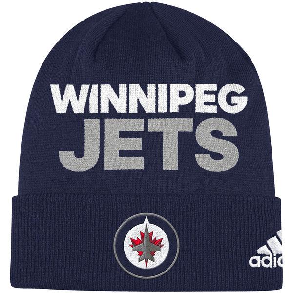 Adidas Zimní Čepice Winnipeg Jets Locker Room 2017 4b3851fd5e