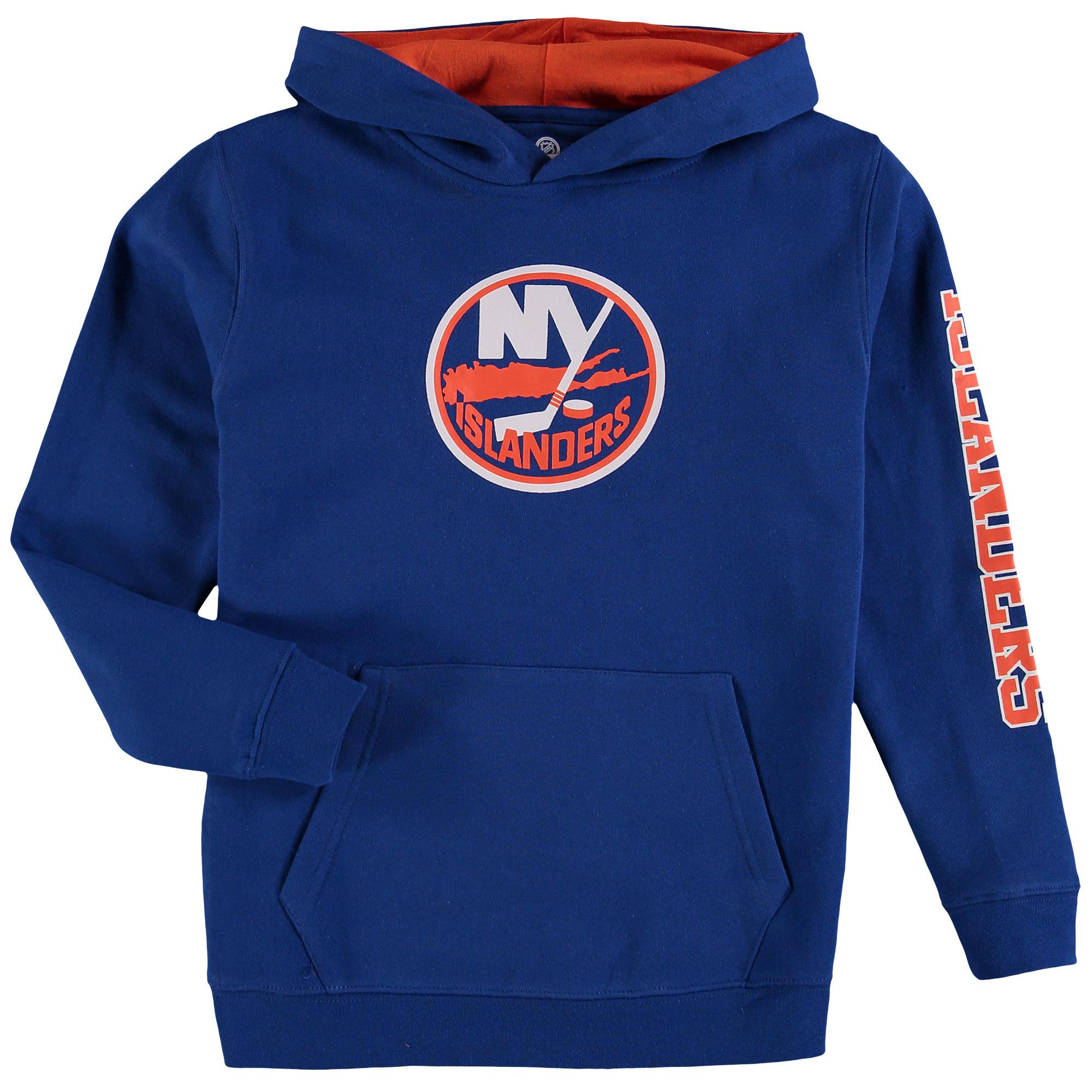 Fanatics Branded Dětská mikina New York Islanders NHL Zone Fleece Velikost: Dětské M (9 - 11 let)