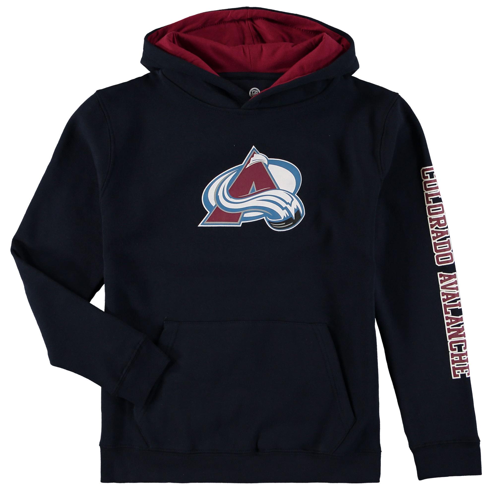 Fanatics Branded Dětská mikina Colorado Avalanche NHL Zone Fleece Velikost: Dětské M (9 - 11 let)