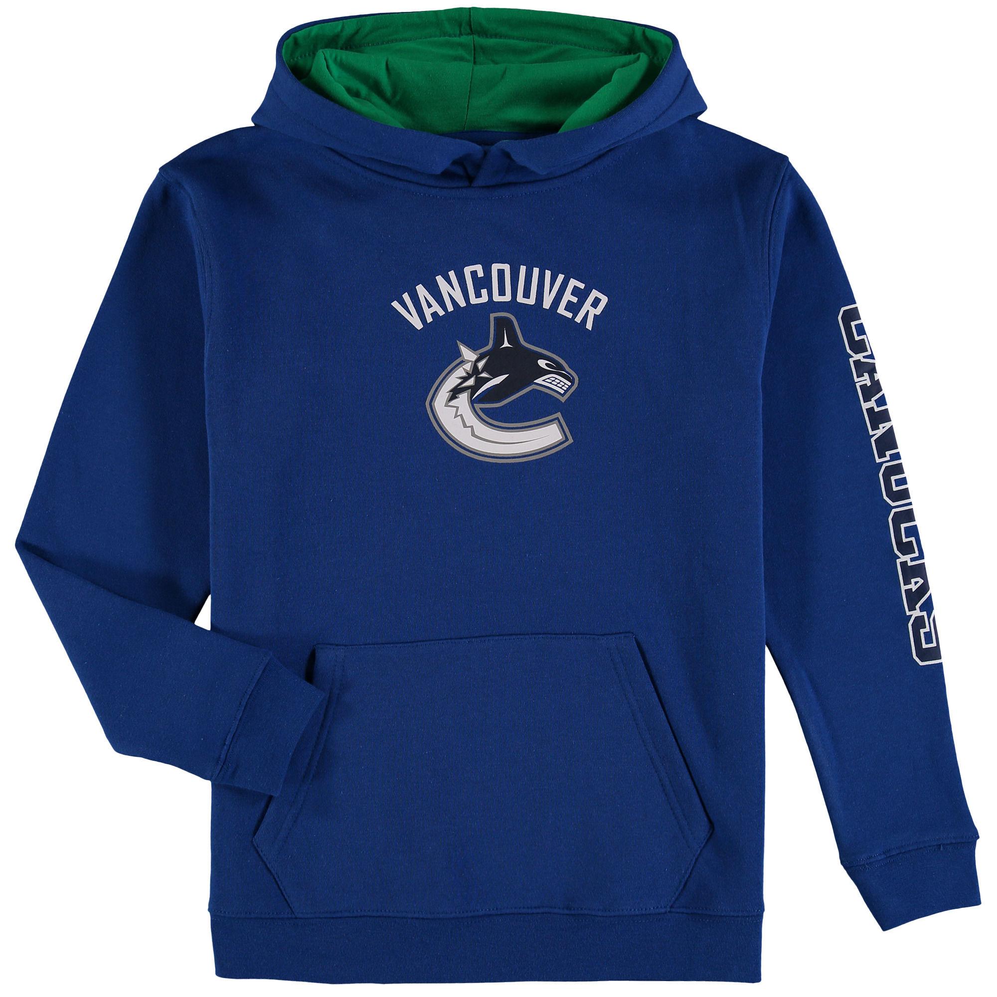 Fanatics Branded Dětská mikina Vancouver Canucks NHL Zone Fleece Velikost: Dětské M (9 - 11 let)