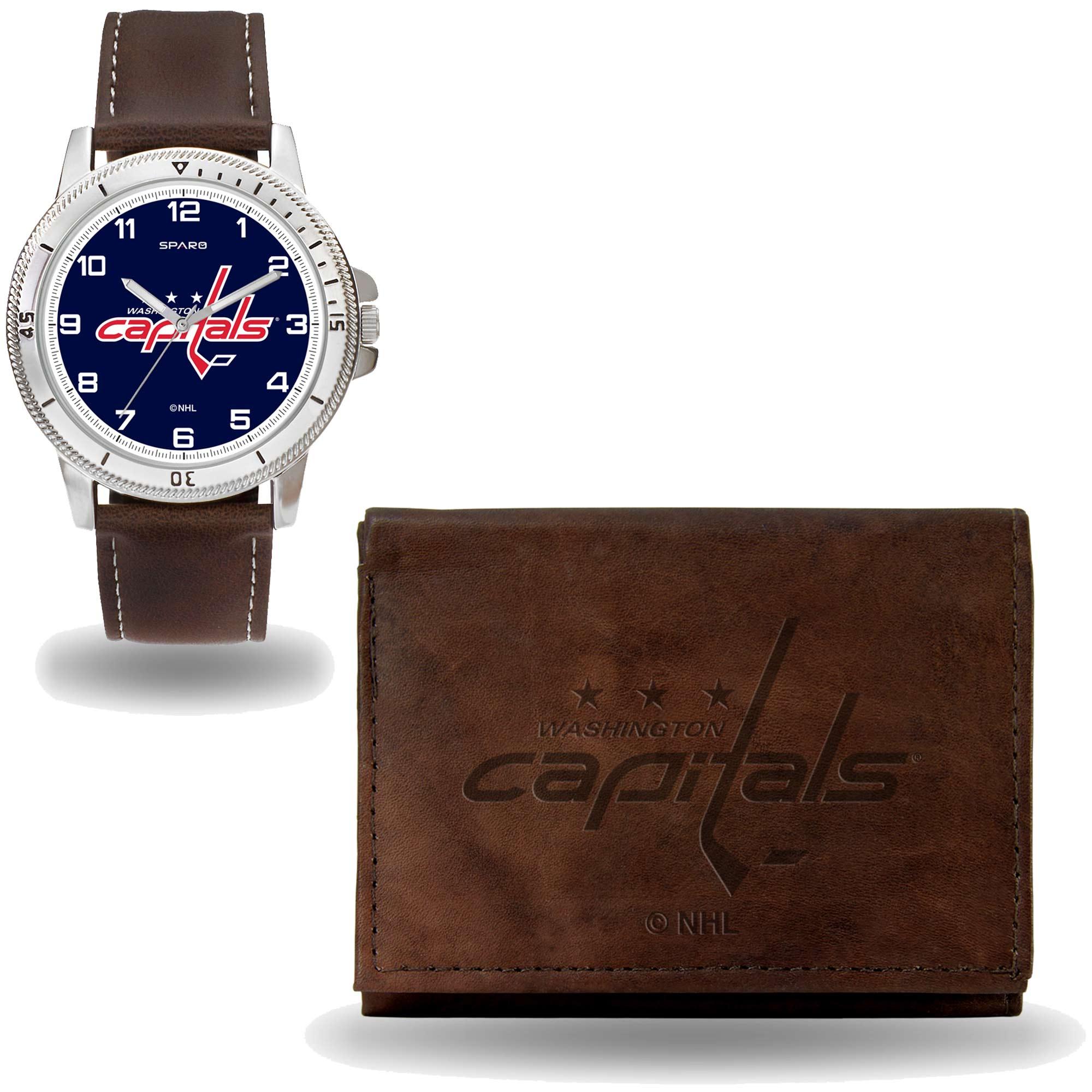 da44805351c Set hodinky a peněženka Washington Capitals NHL Sparo Distribuce  USA
