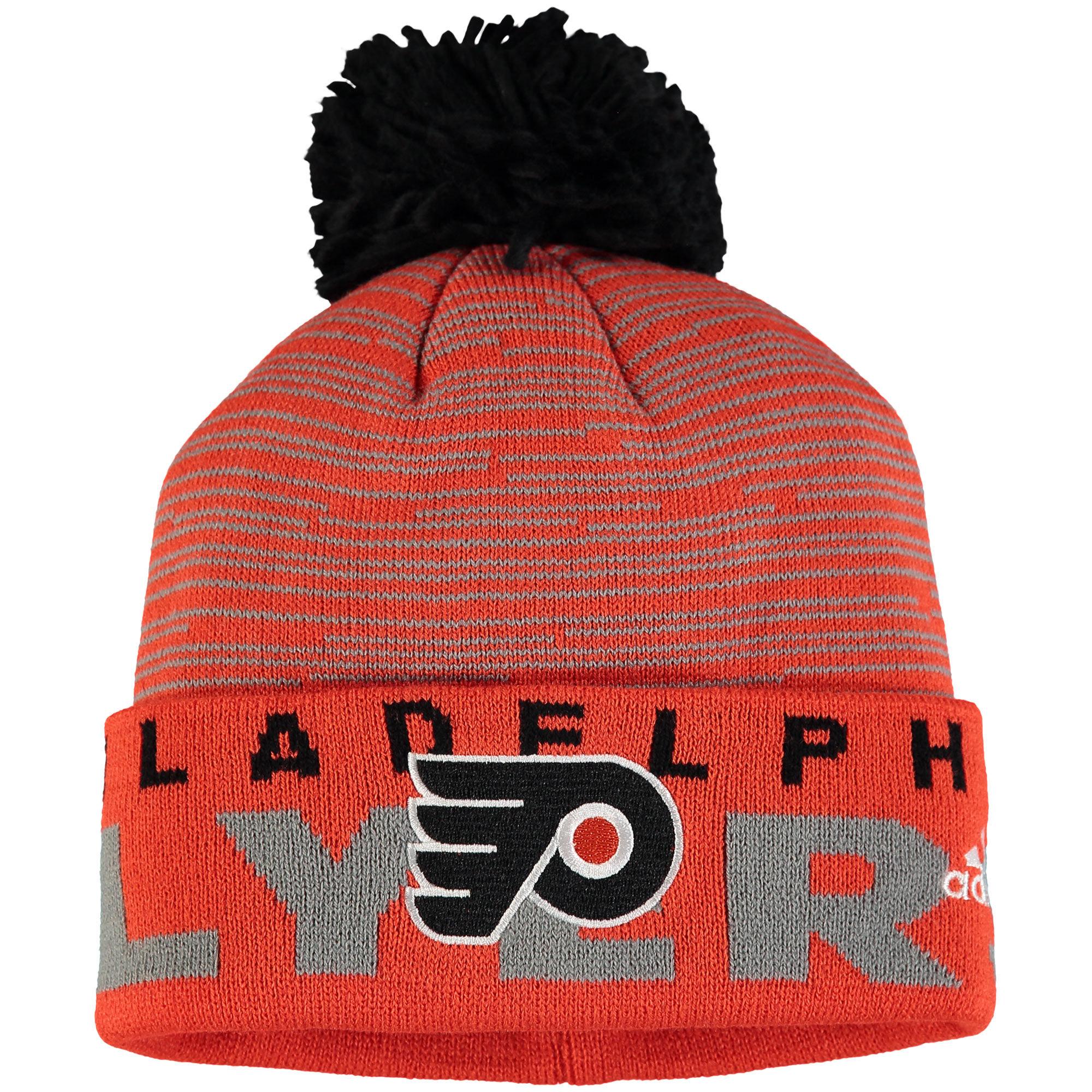 Adidas Dětská zimní čepice Philadelphia Flyers NHL Team Logo Cuffed