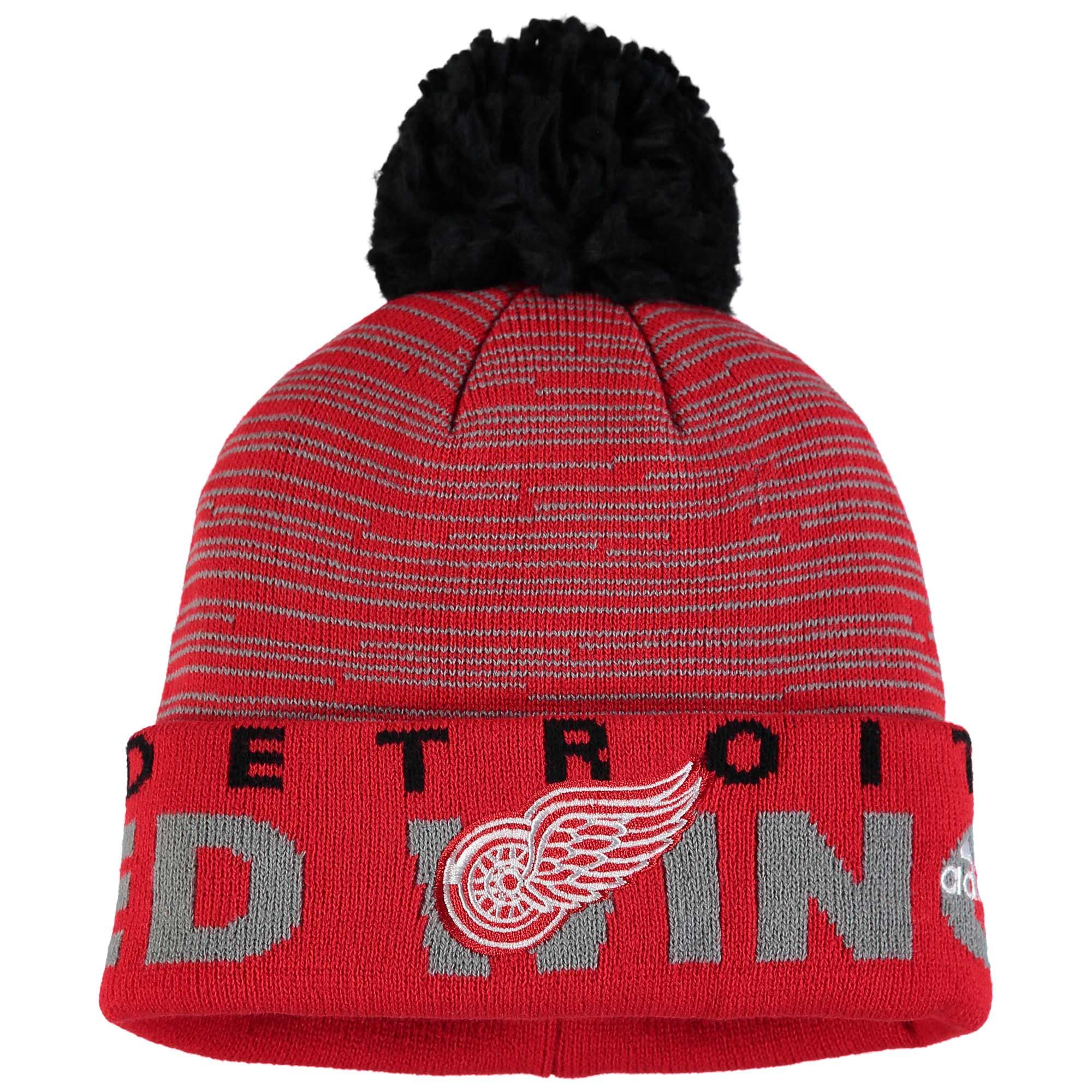 Adidas Dětská zimní čepice Detroit Red Wings NHL Team Logo Cuffed 496fd33c3e