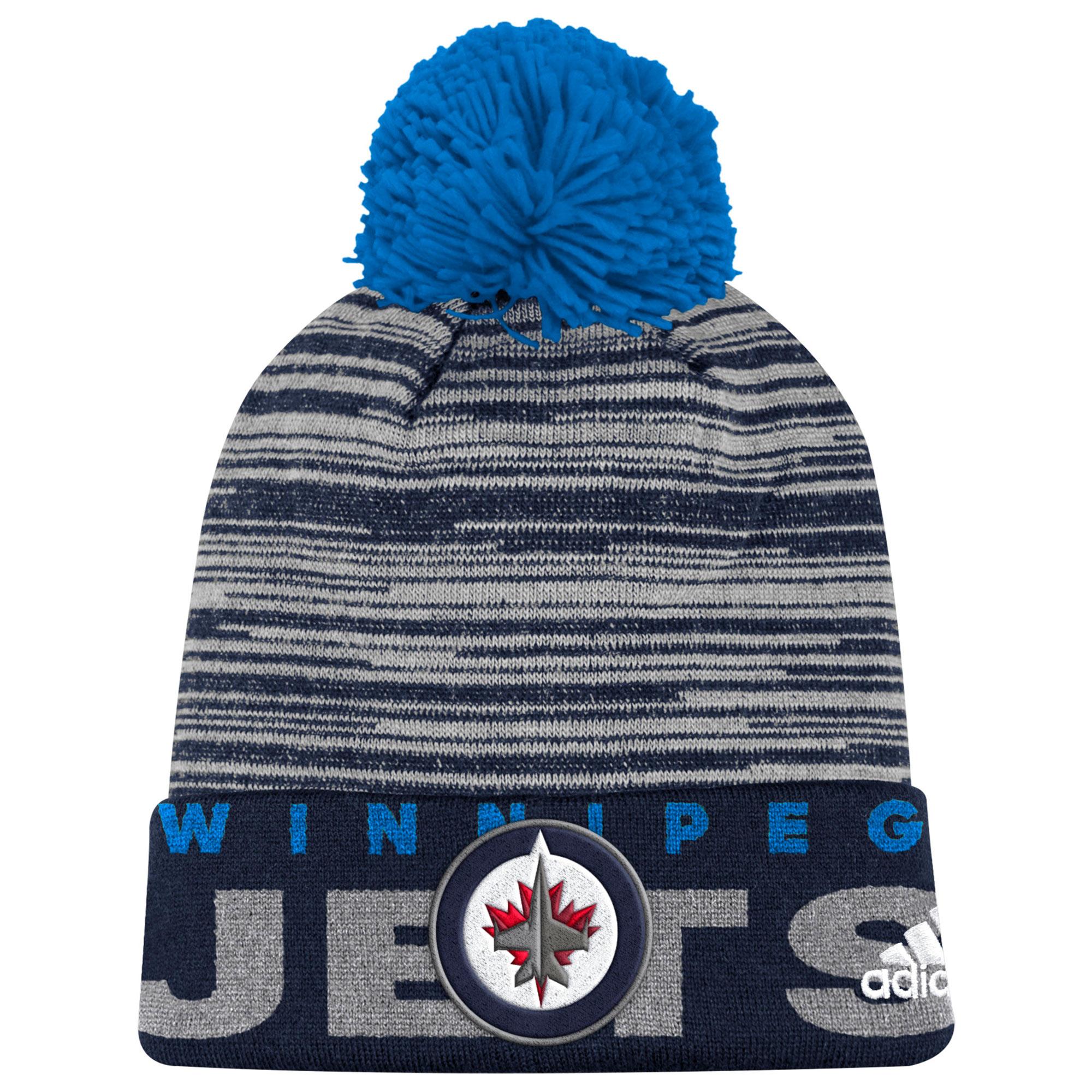 Adidas Dětská zimní čepice Winnipeg Jets NHL Team Logo Cuffed