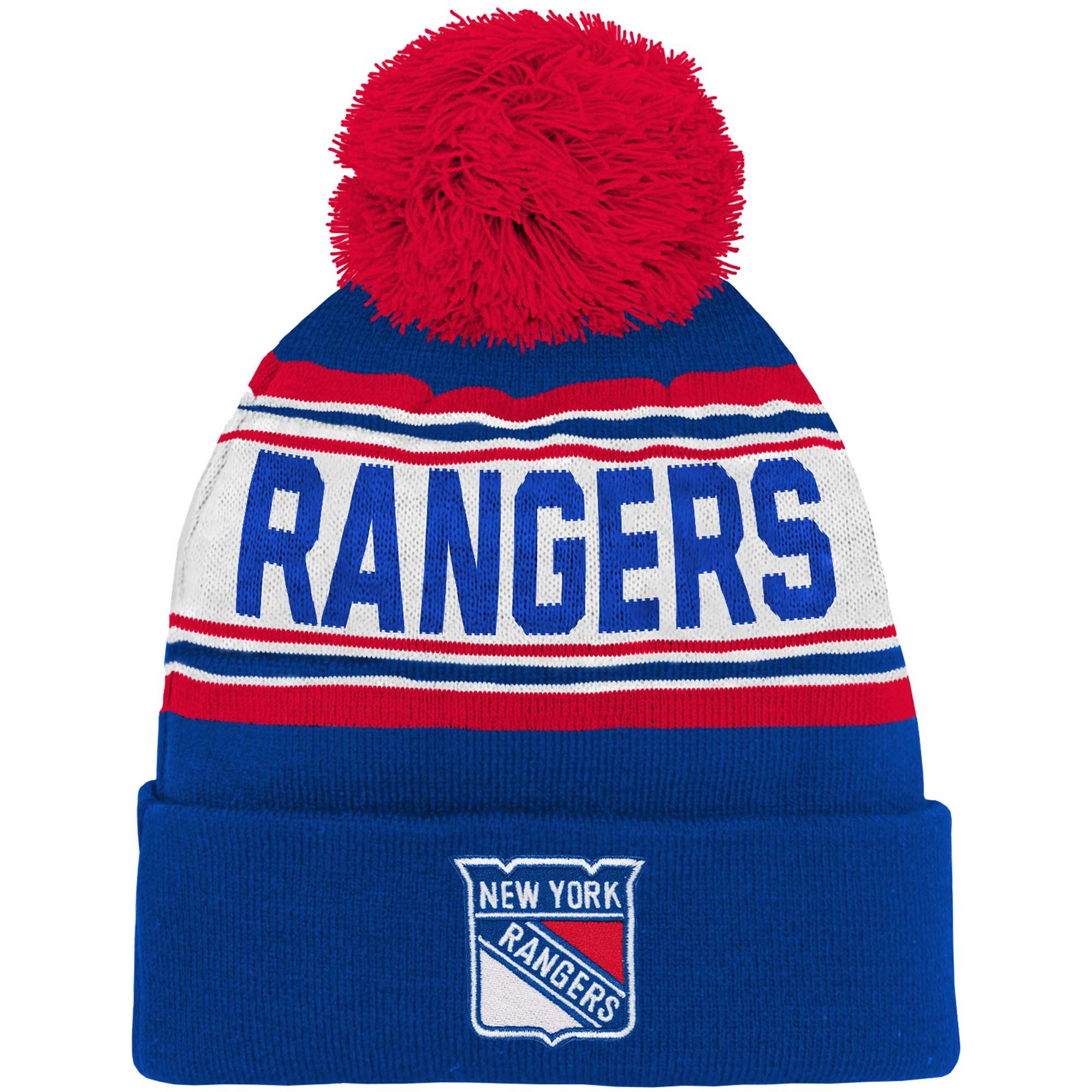 Adidas Dětská zimní čepice New York Rangers NHL Wordmark Cuffed