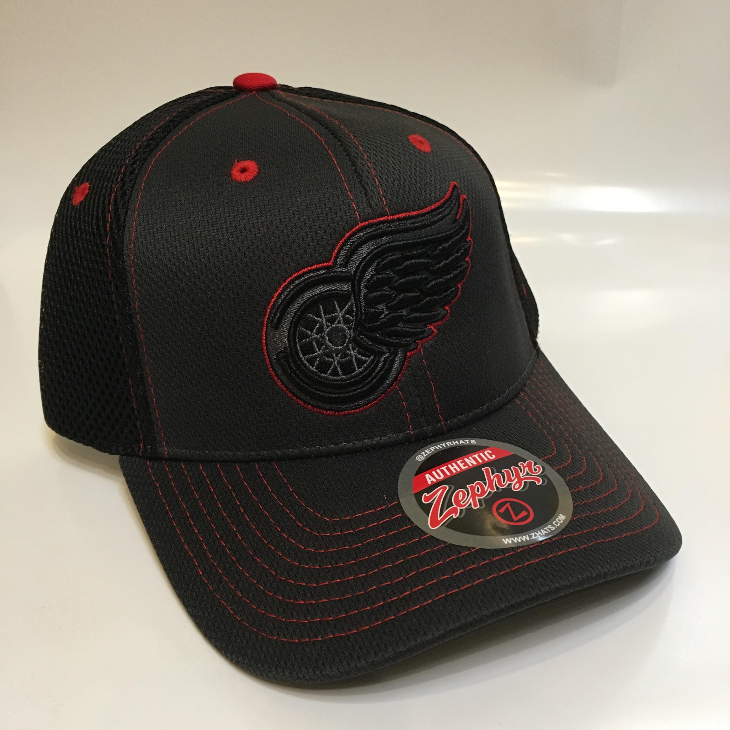 3673194edab Kšiltovka Detroit Red Wings Zephyr Blacklight Original Snapback