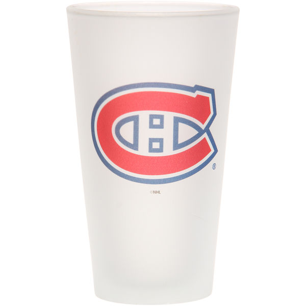 The Memory Company Sklenice Montreal Canadiens Frosted Pint Glass 470 ml