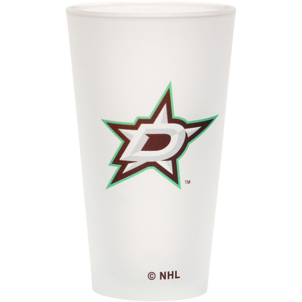 The Memory Company Sklenice Dallas Stars Frosted Pint Glass 470 ml