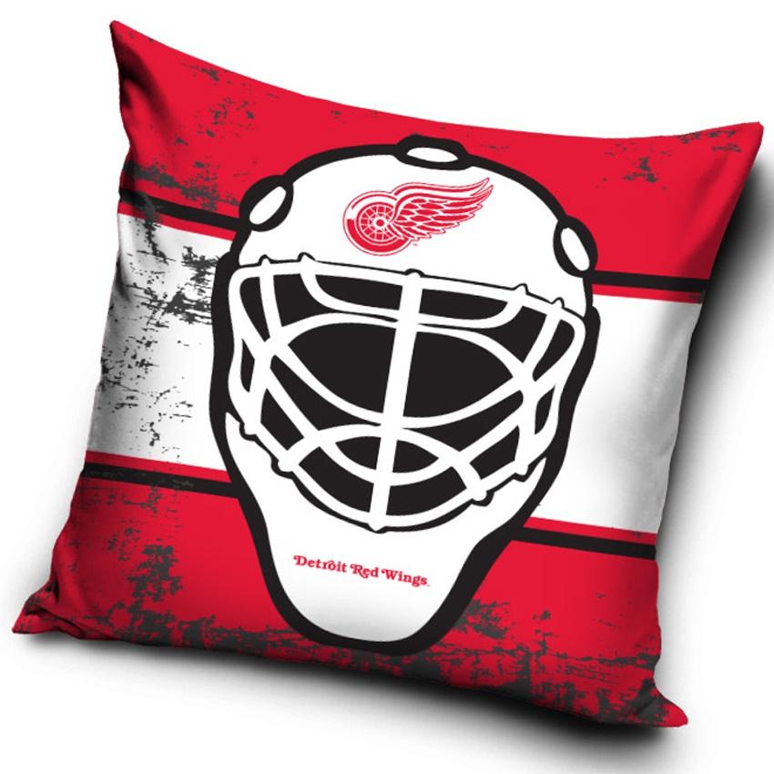 TIP Polštářek Detroit Red Wings NHL Maska