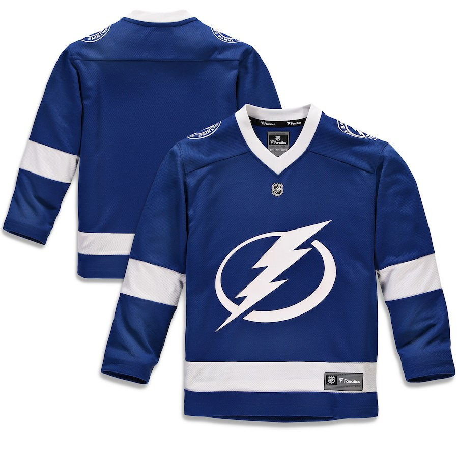 064b9ed6ec6 Fanatics Branded Dětský Dres Tampa Bay Lightning Replica Home Jersey  Velikost  L XL