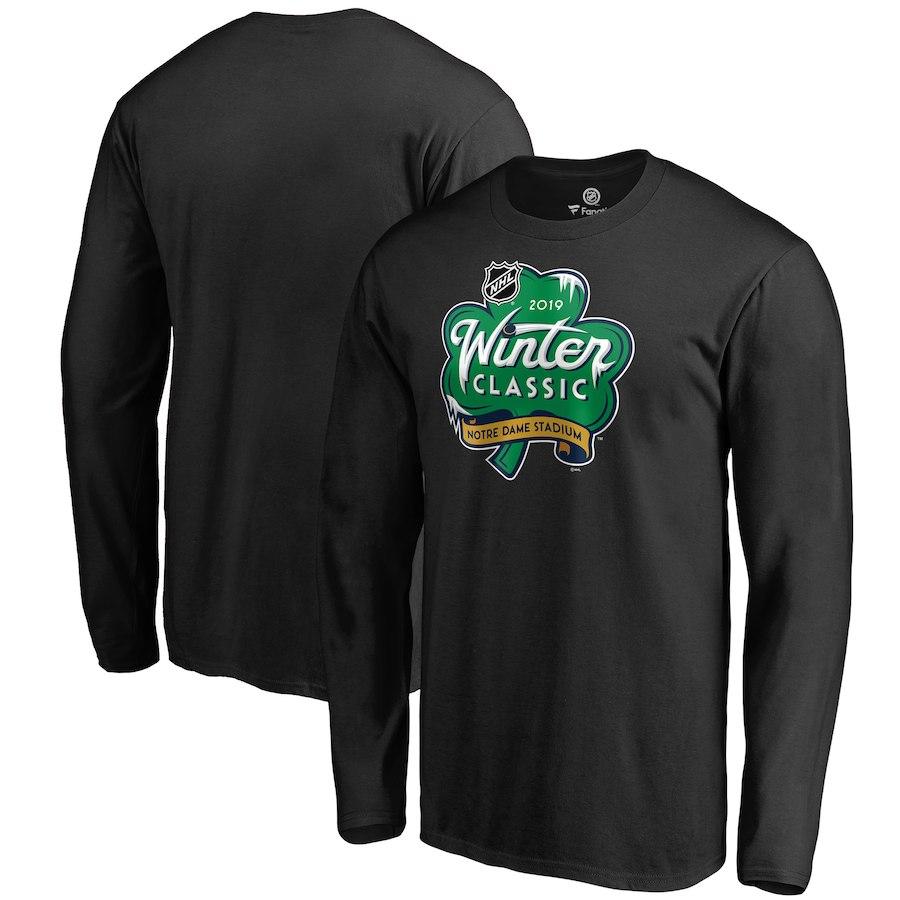 Fanatics Branded Tričko 2019 NHL Winter Classic Event Logo Long Sleeve Velikost: S