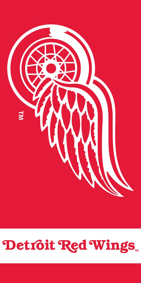 Plážová osuška Detroit Red Wings TIP