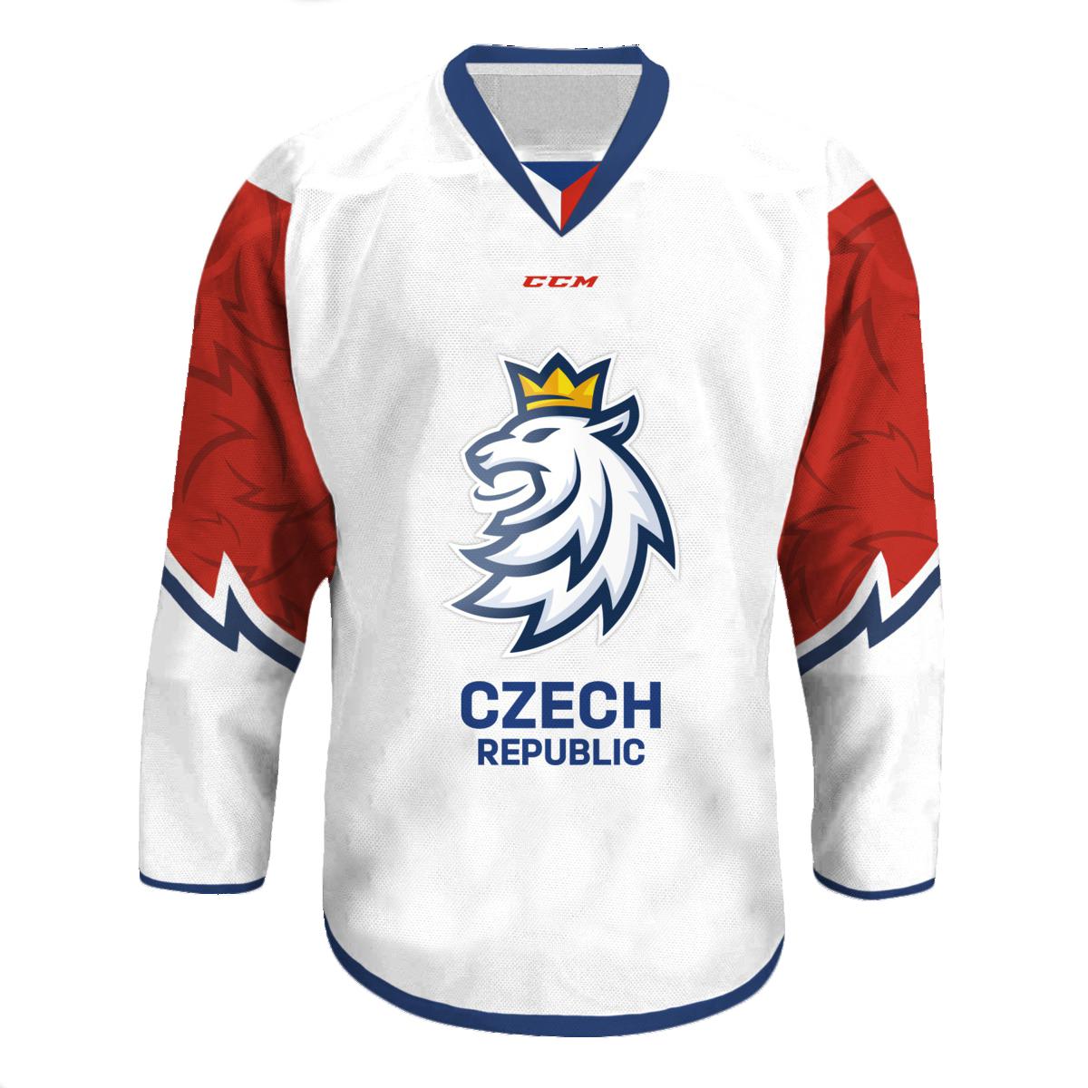 Fan Dres CCM Český Hokej - bílý Velikost: L
