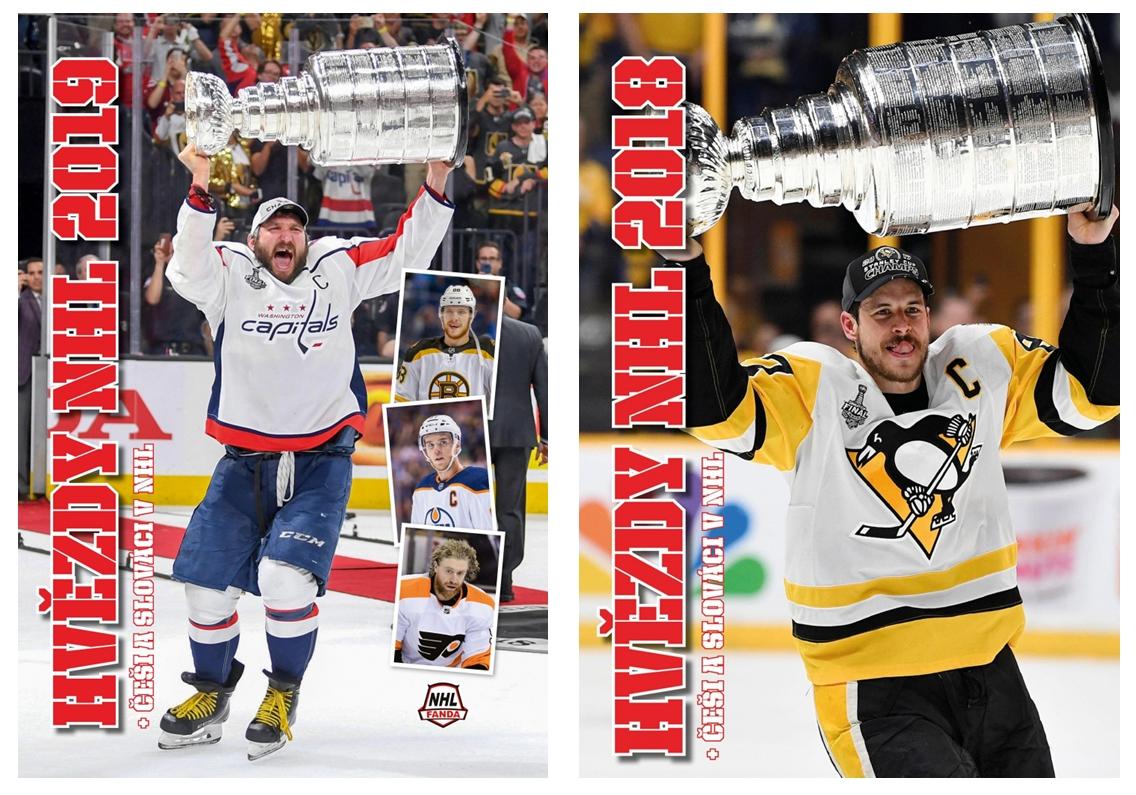 Egmont Hvězdy NHL 2019 + Hvězdy NHL 2018 - set dvou knih