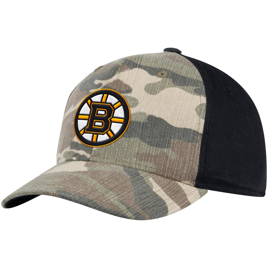 Kšiltovka Boston Bruins Adidas Camo Adjustable