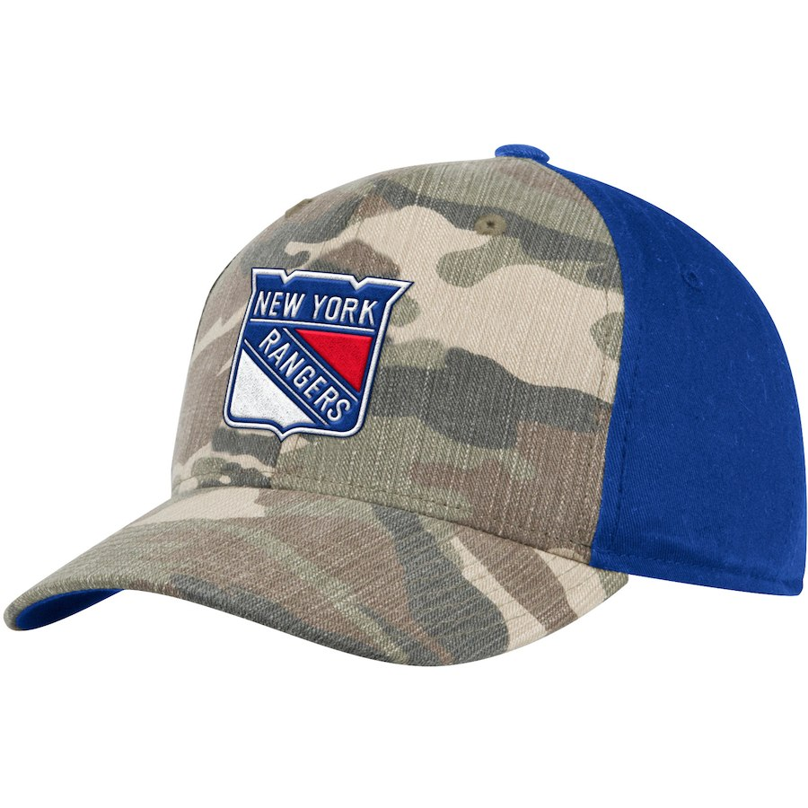 Kšiltovka New York Rangers Adidas Camo Adjustable