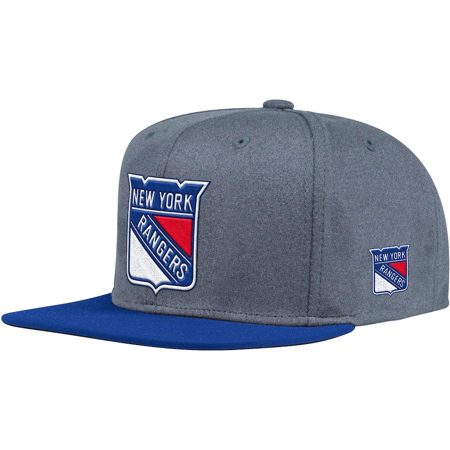 Kšiltovka New York Rangers Adidas Heather Snapback e70d081e94