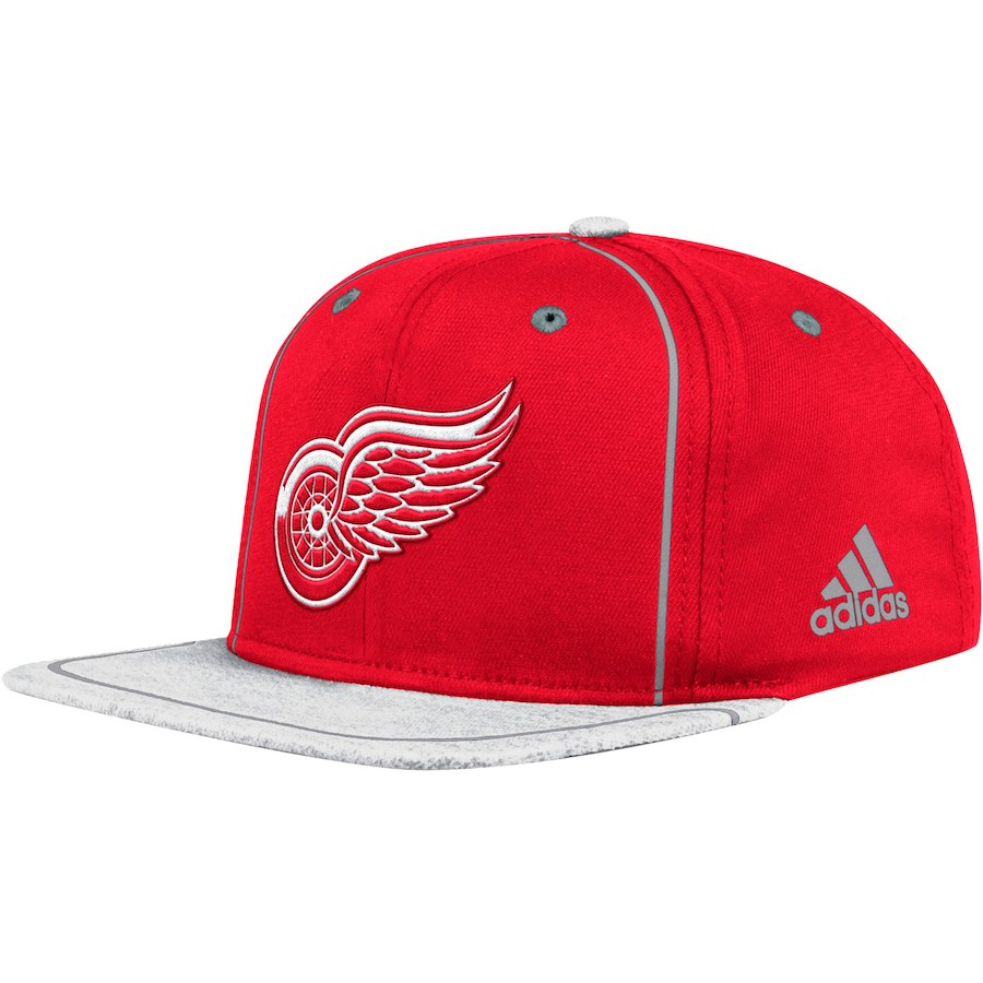Kšiltovka Detroit Red Wings Adidas Bravo Snapback