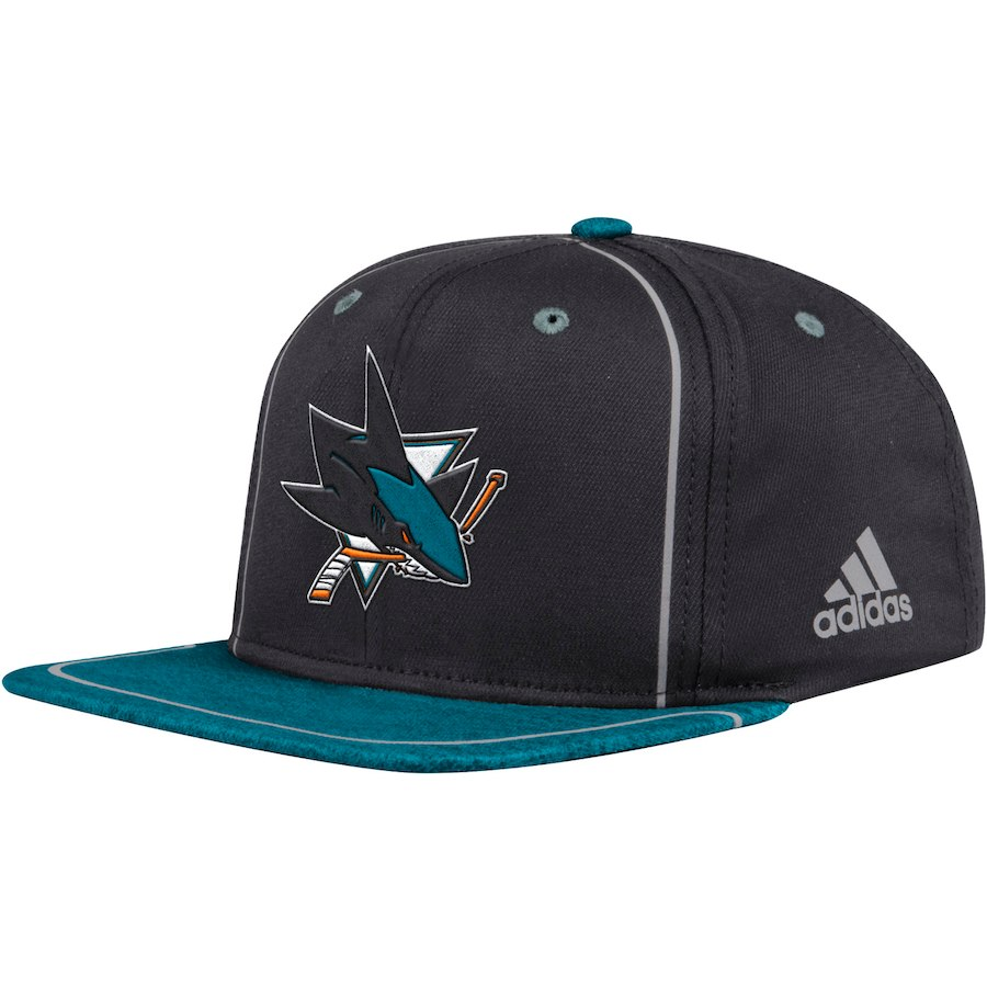 Kšiltovka San Jose Sharks Adidas Bravo Snapback 7db5b32ee1