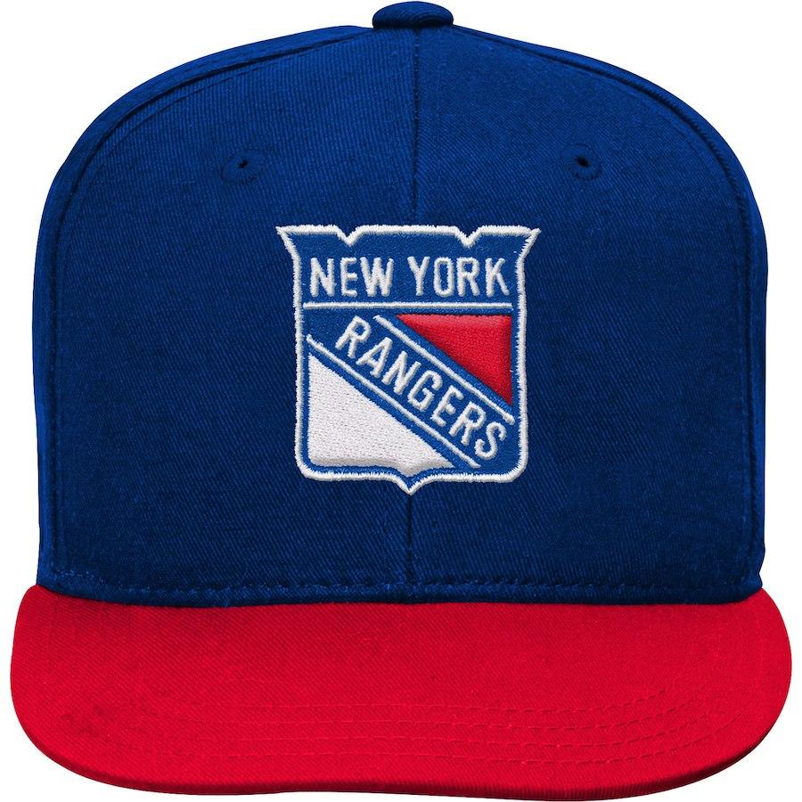 Fanatics Branded Dětská Kšiltovka New York Rangers Two-Tone Flatbrim  Snapback 09aa639cce