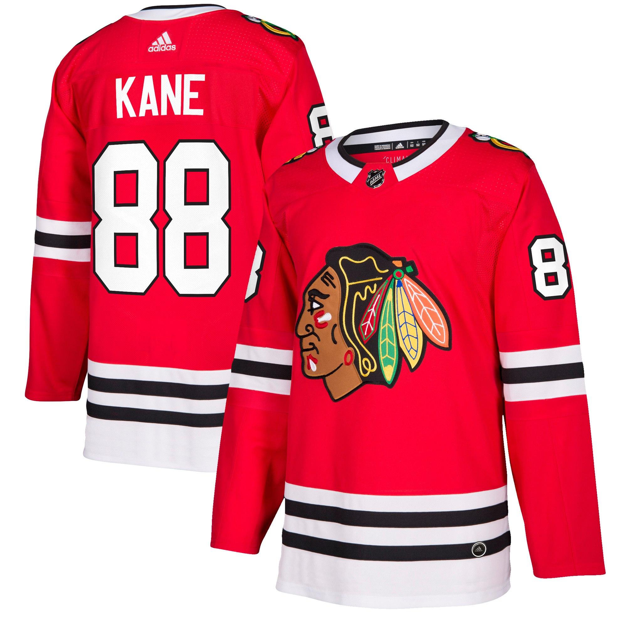 Adidas Dres Chicago Blackhawks #88 Patrick Kane adizero Home Authentic Player Pro Velikost: L, Distribuce: USA