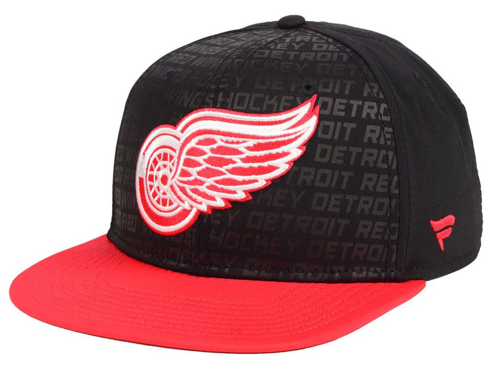 Fanatics Kšiltovka Detroit Red Wings Rinkside Snapback