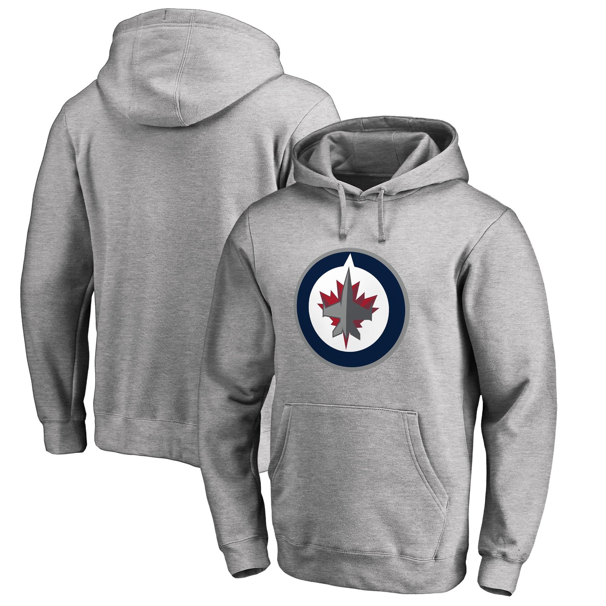 Mikina Winnipeg Jets Fanatics Branded Primary Logo Velikost  M 9de58a4441