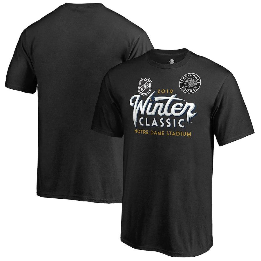 Fanatics Branded Dětské Tričko Chicago Blackhawks 2019 NHL Winter Classic Ice Velikost: dětské S