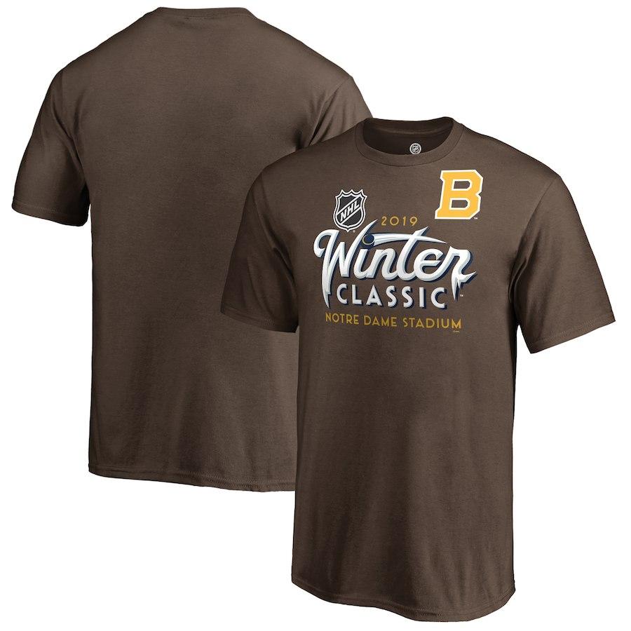 Fanatics Branded Dětské Tričko Boston Bruins 2019 NHL Winter Classic Ice Velikost: dětské S