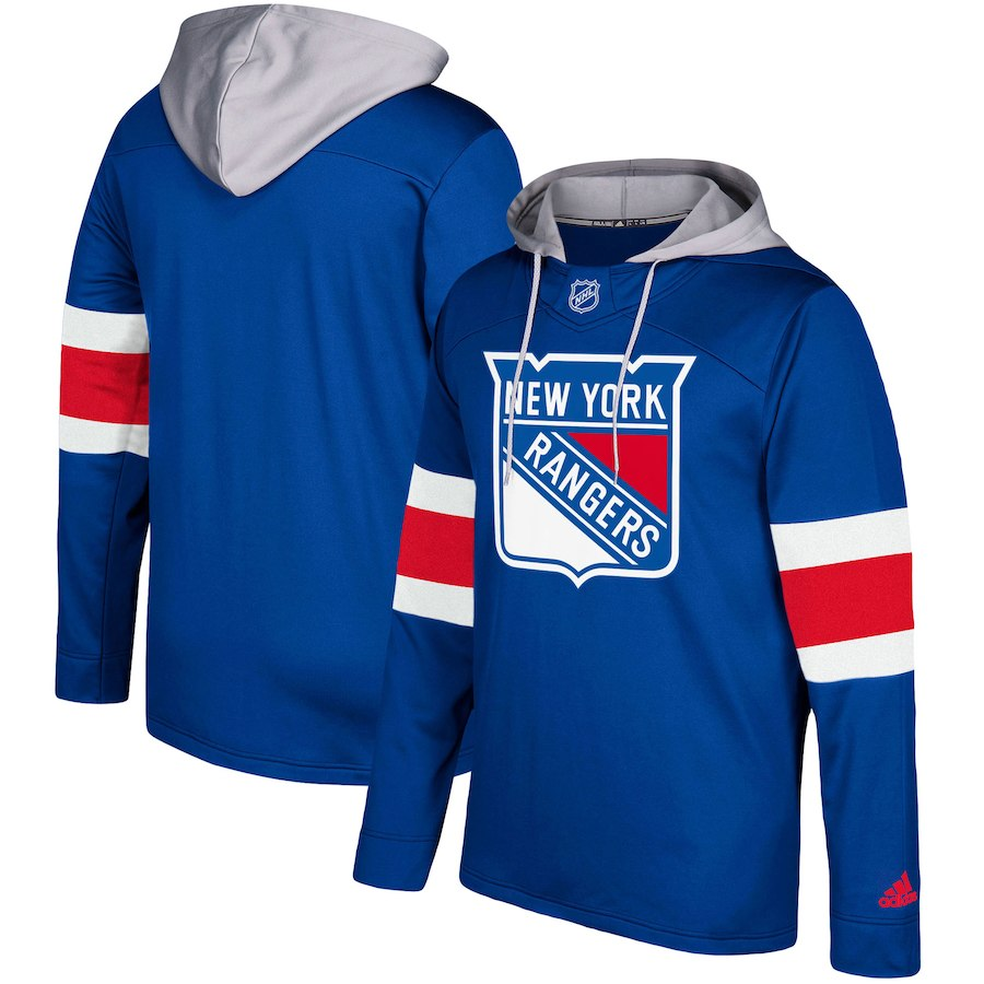 Mikina New York Rangers Adidas Jersey Pullover Hoodie Velikost: XL