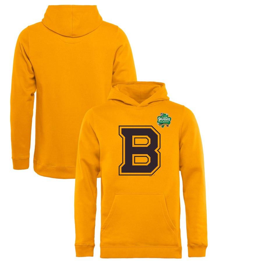 Fanatics Branded Dětská Mikina Boston Bruins Winter Classic Primary Logo Velikost: Dětské M (9 - 11 let)