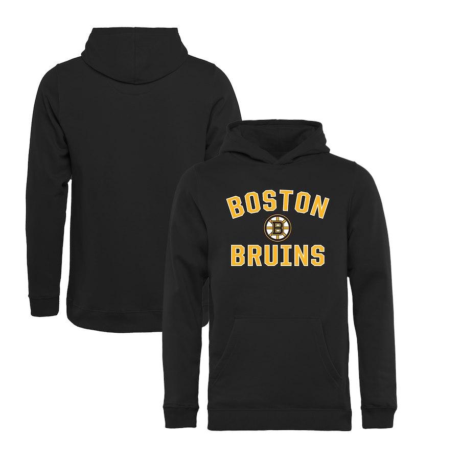 Fanatics Branded Dětská mikina Boston Bruins Victory Arch Pullover Hoodie Velikost: Dětské M (9 - 11 let)