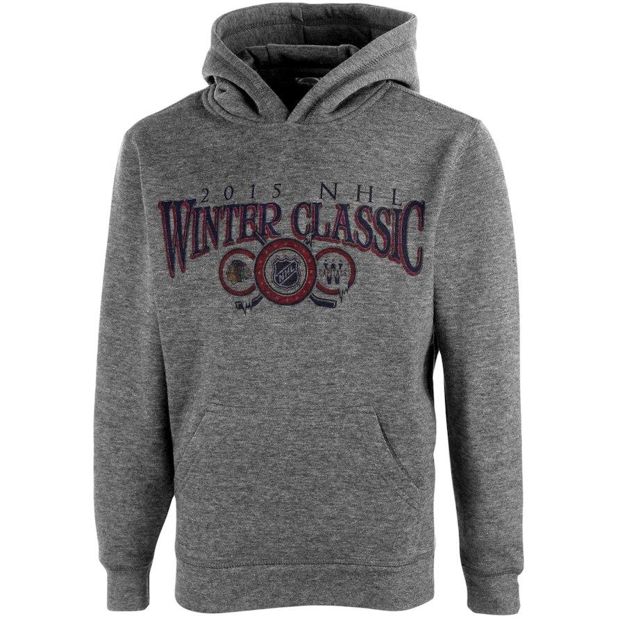 Levelwear Dětská Mikina 2015 NHL Winter Classic Dueling Hoodie Velikost: Dětské M (9 - 11 let)