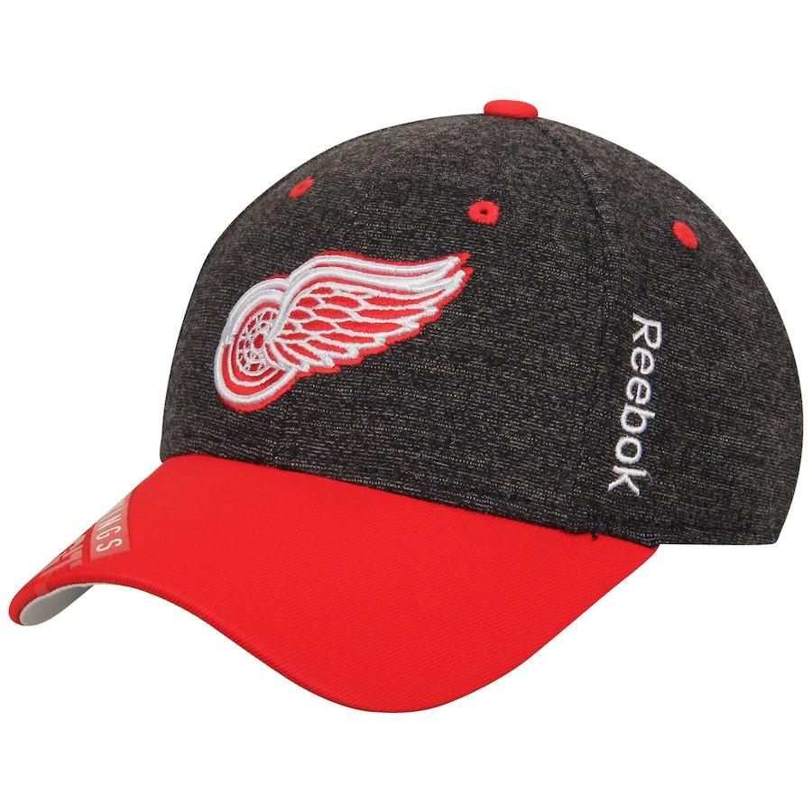 28f46d856de Dětská Kšiltovka Detroit Red Wings Reebok Playoffs Structured Flex
