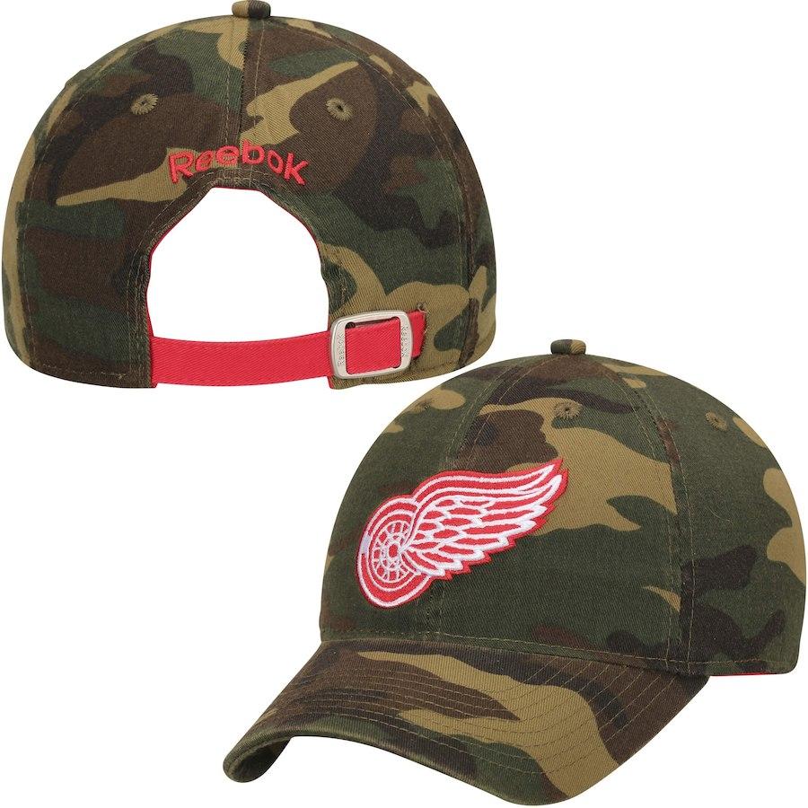 Reebok Kšiltovka Detroit Red Wings NHL Slouch Camo