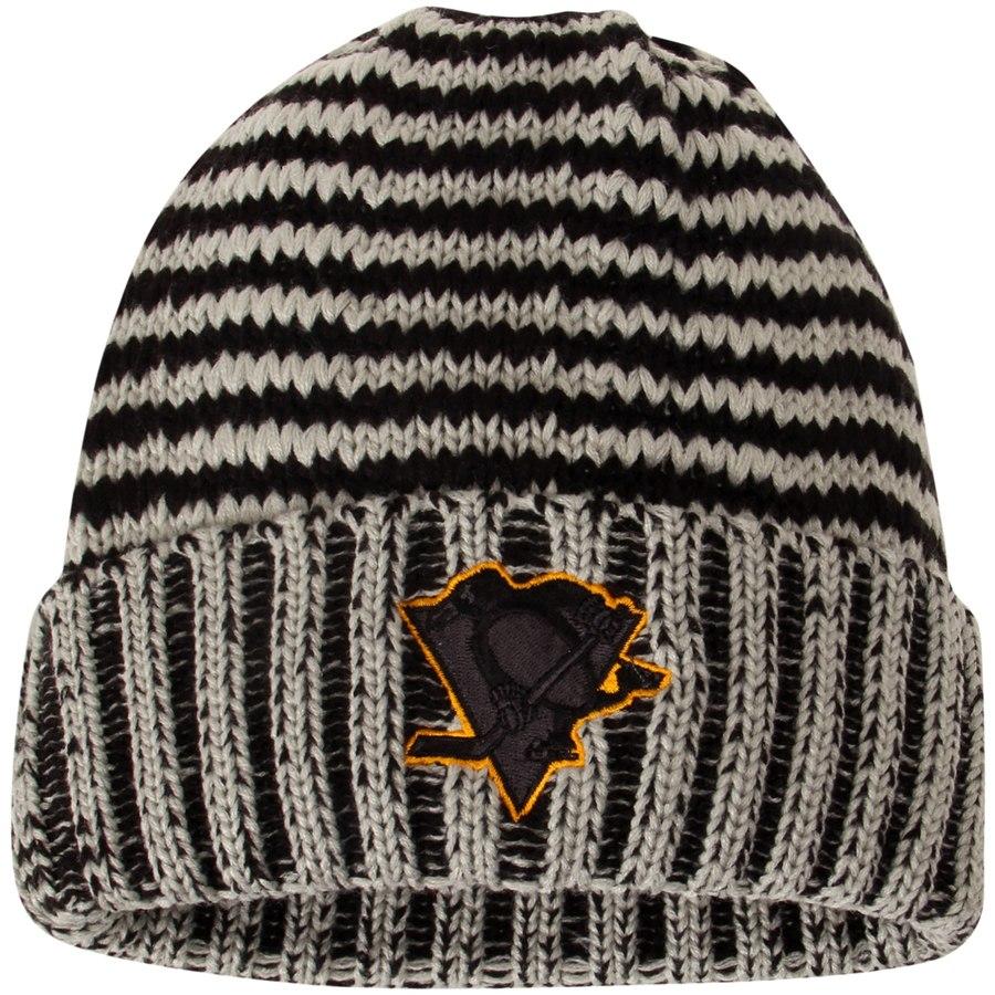 Reebok Zimní Čepice Pittsburgh Penguins Crosscheck Cuffed 763d54a26c